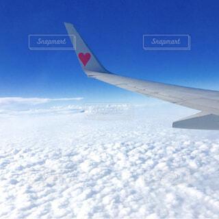 雪に覆われた飛行機の写真・画像素材[3699705]