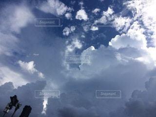 空の雲の写真・画像素材[3689089]