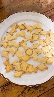型抜きクッキーの写真・画像素材[3688422]