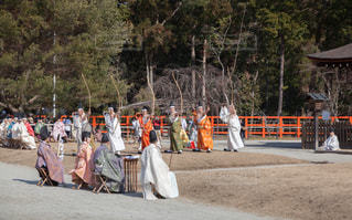 京都上賀茂神社の武射神事の写真・画像素材[1785903]