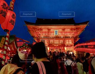 伏見稲荷大社の本宮祭の写真・画像素材[2337257]