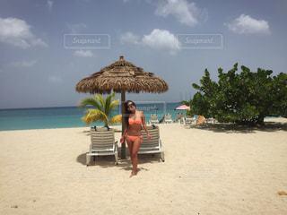 砂浜の写真・画像素材[1199633]