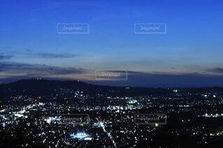 夜の奈良の写真・画像素材[3693843]
