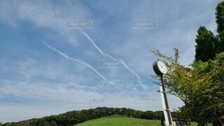 公園の空の写真・画像素材[3716096]