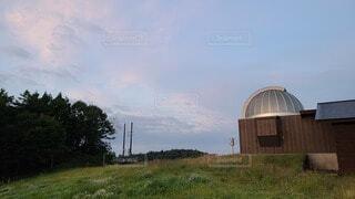 大自然の天文台の写真・画像素材[3761107]