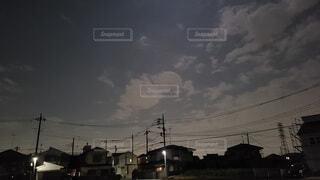夜の景色の写真・画像素材[3762666]