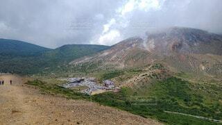 険しい山の写真・画像素材[3768976]