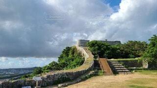 勝連城跡の景色の写真・画像素材[3970720]