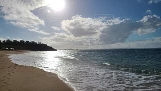 砂浜と海の写真・画像素材[3978356]