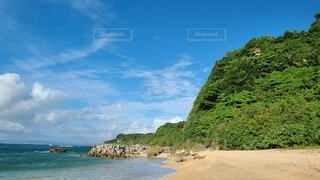 海と山の写真・画像素材[4033377]