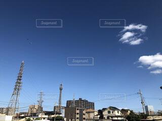 日常の晴天の写真・画像素材[3777670]