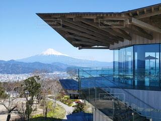 夢テラスと富士山の写真・画像素材[3700069]