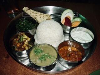 ネパール料理 ダルバードタルカリの写真・画像素材[3791566]