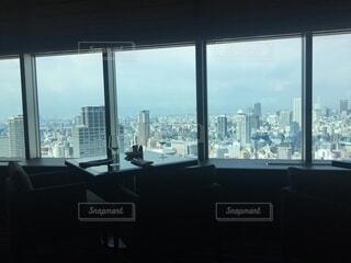 ビルからの眺めの写真・画像素材[3701401]