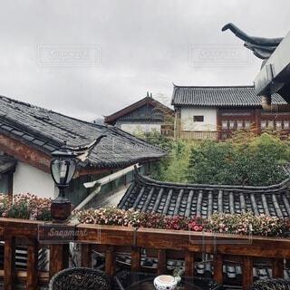 大きな家の写真・画像素材[3723159]