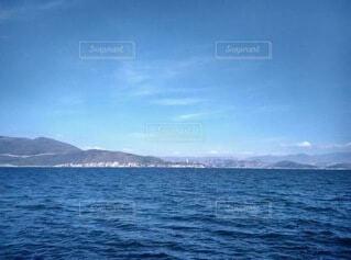大きな水域の写真・画像素材[3723193]