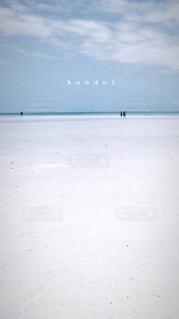 コンドイ浜の写真・画像素材[3703582]