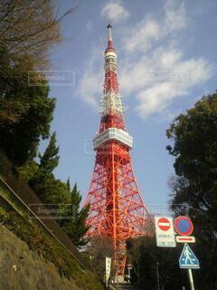 東京タワーの写真・画像素材[3786189]