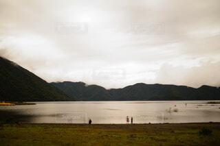 Lake Motosu of memoryの写真・画像素材[3720954]