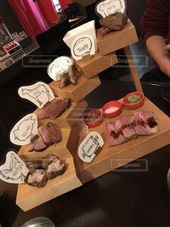肉料理の写真・画像素材[3707352]
