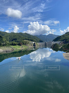 八ッ場ダムの写真・画像素材[3707658]