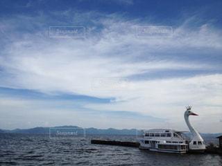 湖の写真・画像素材[157196]