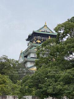 大阪城公園の写真・画像素材[3714487]