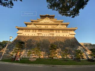 大阪城の写真・画像素材[3739016]