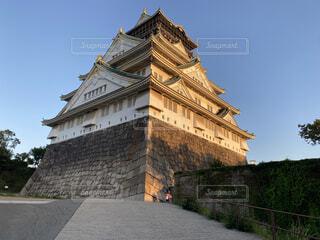 大阪城の写真・画像素材[3739047]