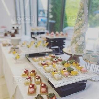 結婚式のデザートの写真・画像素材[4735634]