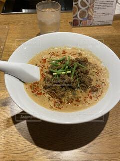 辛くて美味しい坦々麺の写真・画像素材[4811659]
