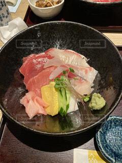 近大マグロの海鮮丼の写真・画像素材[4834771]