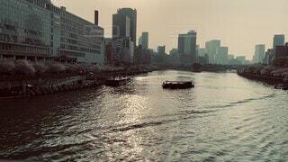 大阪天満橋からの風景の写真・画像素材[4765754]