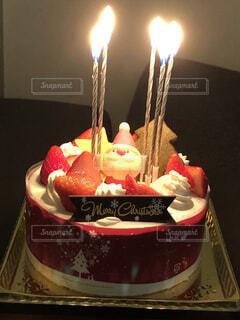 クリスマスケーキの写真・画像素材[4954438]