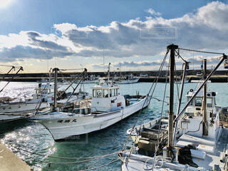 漁港の写真・画像素材[4043304]
