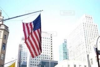 星条旗(ニューヨーク)の写真・画像素材[3718392]
