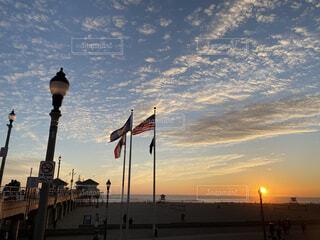 sunsetの写真・画像素材[3717270]