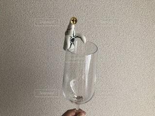 ワインを一杯飲むの写真・画像素材[3717975]