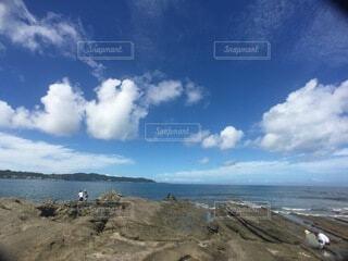 海の眺めの写真・画像素材[3726520]