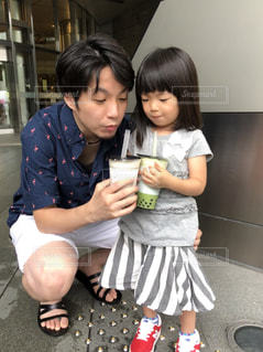 パパ&娘デート❤️の写真・画像素材[2391731]