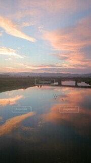 夕陽の写真・画像素材[3746732]
