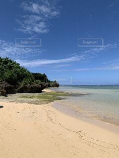 西表島 まるまビーチの写真・画像素材[3736092]
