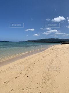 西表島 まるまビーチの写真・画像素材[3736089]