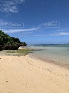 西表島 まるまビーチの写真・画像素材[3736091]