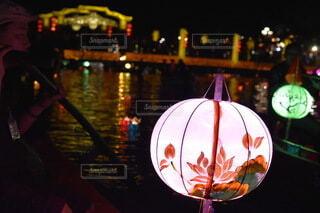 ベトナム ホイアン ランタン祭りの写真・画像素材[3736210]