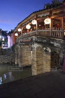 ベトナム ホイアン 日本橋の写真・画像素材[3736417]