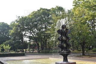 公園の噴水の写真・画像素材[3822716]