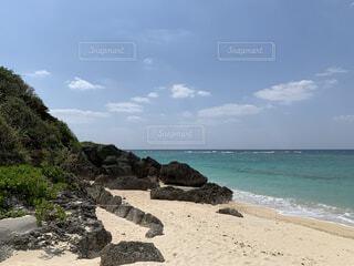 沖縄の海の写真・画像素材[3742158]
