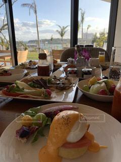 朝食の写真・画像素材[3742165]