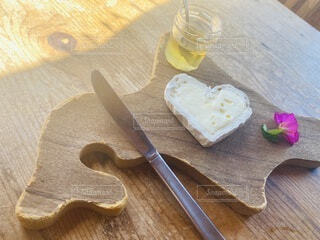 白カビチーズの写真・画像素材[3742376]